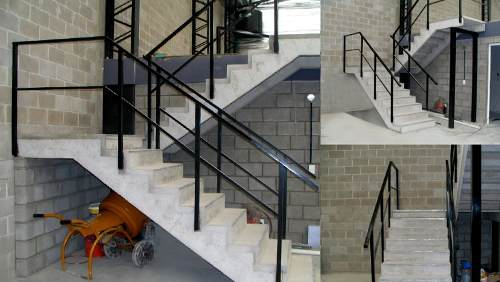 Escaleras premoldeadas de hormigon