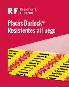 Placas Durlock Resistentes al Fuego