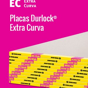 Placas Durlock EstandarExtra Curva