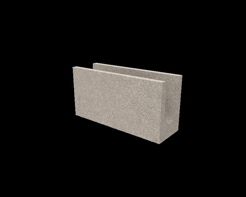 T13-U Bloque de hormigon cemento
