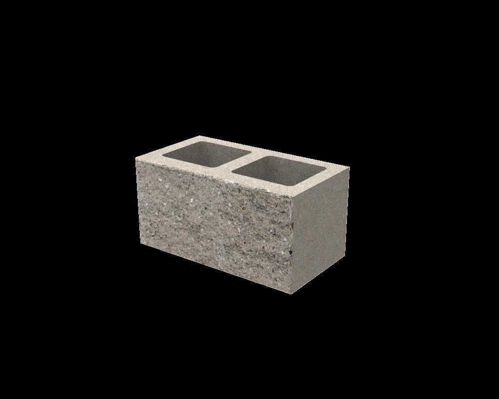 Bloque de hormigon simil piedra