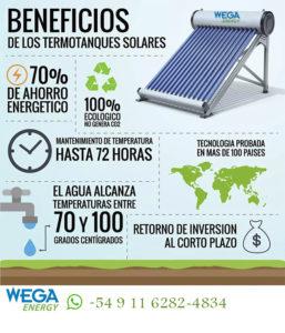 Termotanque Solar Wega