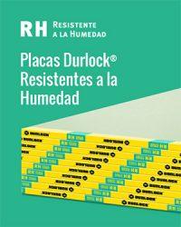 Placas Durlock Resistentes a la humedad